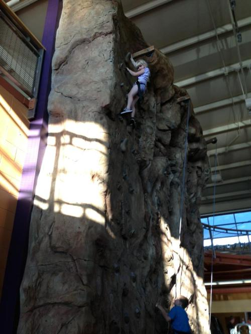 AER rock wall